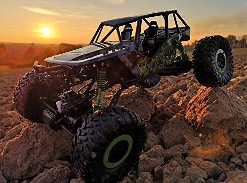 Unbekannt RC 2,4 Ghz Rock Crawler The Beast 4WD Allrad ferngesteuertes Auto Fast 1/2 Meter lang Rennauto Monster Truck Buggy