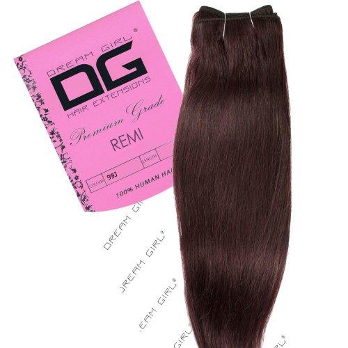 Dream Girl Extensions de cheveux sur trame Couleur 99J 35 cm
