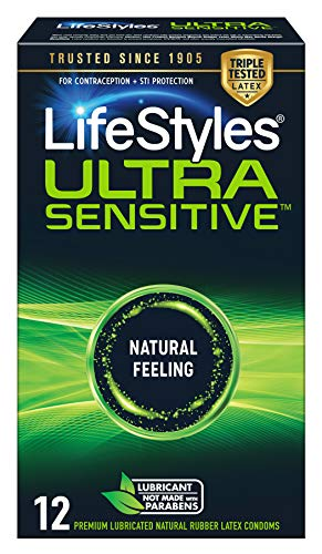 LifeStyles Ultra Sensitive Condoms, 12ct