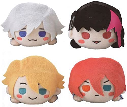 B-PROJECT  beating  Ambitious  Nesoberi stuffed Vol.1 all four set