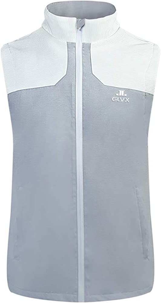 55% OFF Men's Lightweight Golf Vest Windproof for Sleeveless latest Gol Jacket