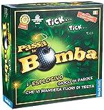 Giochi Uniti- Passa la Bomba Gioco di Divertimento, Multicolore, GU034/2