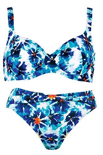 Naturana Bügel Bikini 72355, 40F, türkis bunt