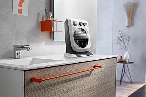 De'Longhi HVF3555TB Bathroom Safe Fan Heater