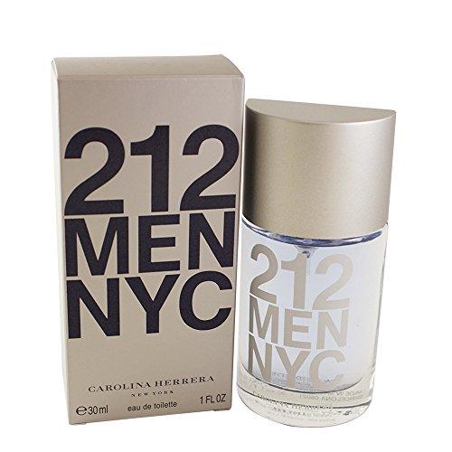 Carolina Herrera 212 Men EDT Spray 30 ml, 1er Pack (1 x 30 ml)