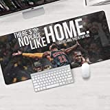 ZDVHM Esteso Gaming Mouse Pad Lebron James Kuzma Lakers NBA Basketball Grande Tastiera Tappetino Mouse Impermeabile Antiscivolo Gioco Mousepad for Office Home PC Desktop Tabella Mouse Pad