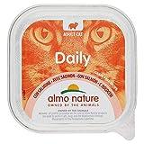 ALMO NATURE Daily menu bio salmone umido gatto gr. 100 - Mangimi umidi per gatti
