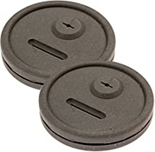 2 Pack Thermometer and Probe Grommet for Grills - Compatible with Weber Smokey Mountain Cookers and More - Compare to Replacement 85037 - by Impresa Products