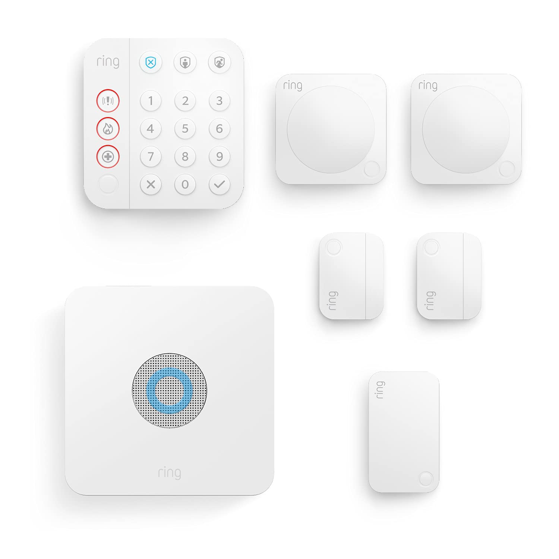 Ring Alarm Kit 7 pièces (2e génération) par Amazon | Système de...