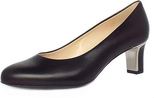 Peter Kaiser Nikki Milieu Talon Talon Cour Chaussures Femmes en Noir  sortie