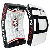 Tigron Kick Shield Gel Strike Shield Sac de frappe Focus Kick Pad de Poinçonnage de boxe MMA Arts martiaux formation Arm (ceci est un seul Article)
