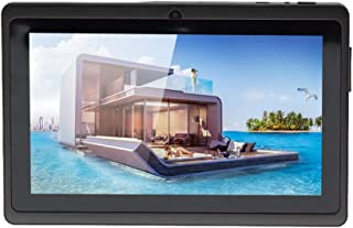 Crony 7025+3D 7 Inch Screen 8GB Internal Dual Camera WiFi White Tablet PC (Black)
