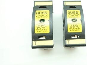 LOT of 2 BUSS JTN60030 Fuse Holder 0-30A 600V-AC