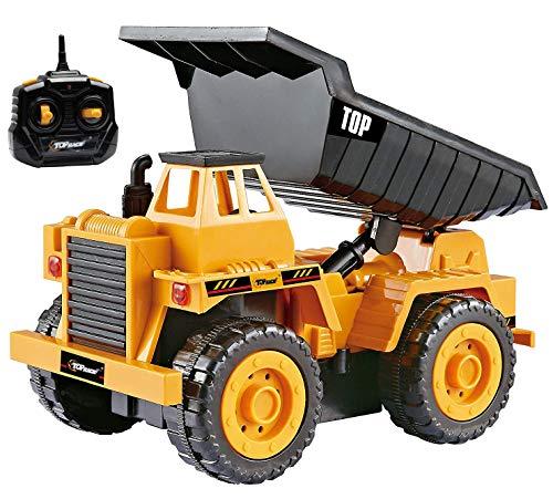 Top Race Camiones de construcción con Control Remoto para n