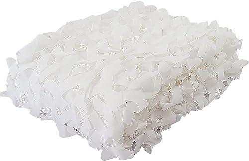 ZHhome Camouflage Blanc écran Solaire Renfort De Filet 3 × 3 M Tente, étude Camping Camping Chasse Enfants Chambre Cachée Jardin Décoration ( Taille   88M(26.226.2ft) )