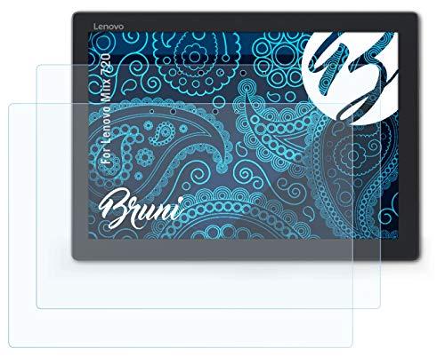 Bruni Schutzfolie kompatibel mit Lenovo Miix 720 Folie, glasklare Bildschirmschutzfolie (2X)