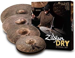 k custom dry cymbal set