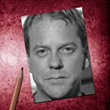 Seasons KIEFER SUTHERLAND - ACEO Sketch Card (Signed by the