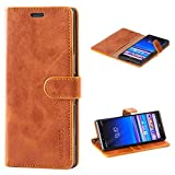Mulbess Vintage Sony Xperia 1 Case, Sony Xperia 1 Phone