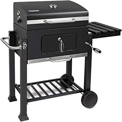 Amazon com: Landmann 560202 Charcoal Grill, Black: Garden