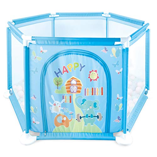 For Sale! Baby Playpen Security Protection Kids Activity Centre Safety Play Area Gate Home Toddler C...