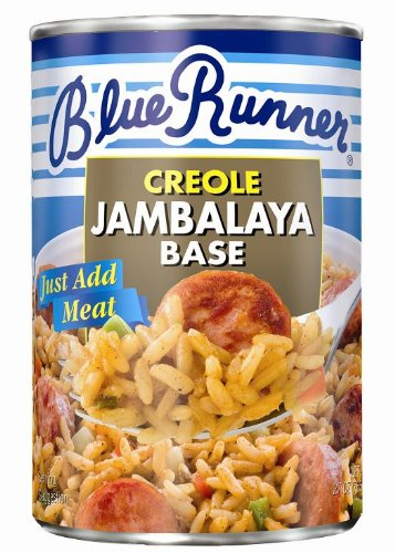 Blue Runner Creole Jambalaya Base (THREE 25-ounce cans)
