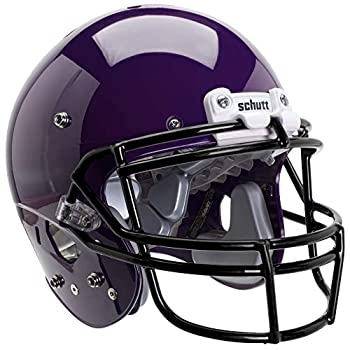 Schutt Sports Varsity AiR XP Pro VTD II Football Helmet Faceguard Not Included  Purple Large