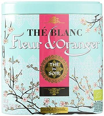 Terre d'Oc Thé de l'Hospitalité Blanc Fleur d'Oranger Bio