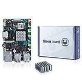 youyeetoo SBC Tinker Board RK3288 SoC 1.8GHz Quad Core CPU, 600MHz Mali-T764 GPU, 2GB DDR3 Singleboard Computer