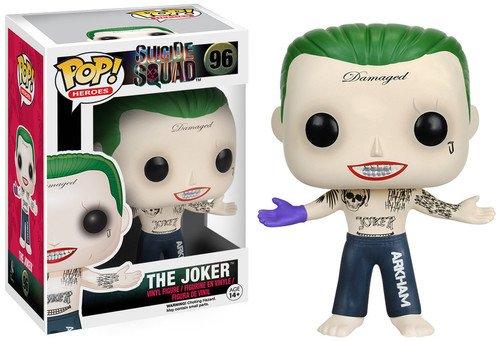 Funko 8659 S1 No Actionfigur Suicide Squad: Joker Shirtless, Multi