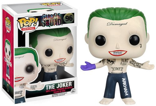 Funko 8659 S1 No Actionfigur Suicide Squad: Joker Shirtless, Multi