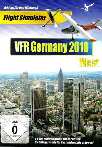 Flight Simulator X - VFR Germany 2010 West