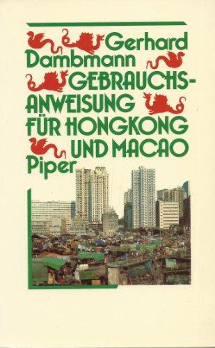 Gebrauchsanweisung für Hongkong und Macao