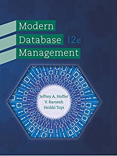 Modern Database Management (0133544613) | Amazon price tracker / tracking, Amazon price history charts, Amazon price watches, Amazon price drop alerts