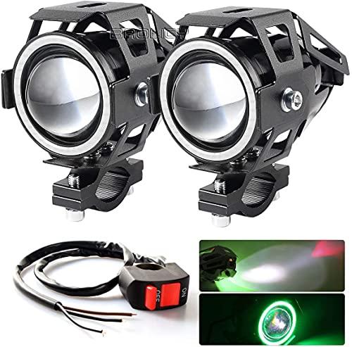 BAOLICY Motorcycle Headlight Cree U7 LED Fog Lights Spotlight Daytime...
