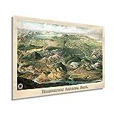 Historix Yellowstone National Park Poster 1904 Yellowstone
