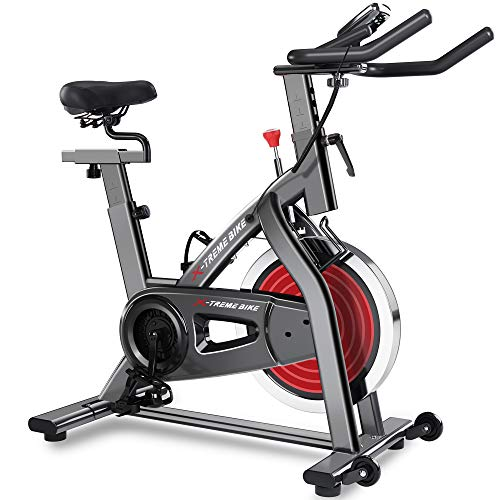 Merax Deluxe Indoor Cycling Bike Cycle Trainer Exercise Bicycle