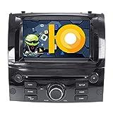 JIBO para Peugeot 407 2004-2010 Auto Cabeza Unidad Android 8.1 Doble Estruendo Estéreo GPS Navegación Multimedia Jugador 7' Tocar Pantalla Nav Sat Teléfono Control Radio Video Receptor,4G+32G 8 Core