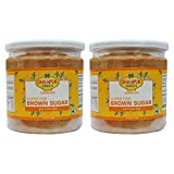 Demerara Brown Sugar with Lime Peel - 500g (Pack of 2 - 250g each)
