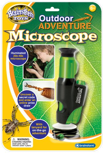 Brainstorm Toys E2014 Outdoor Adventure Microscope,