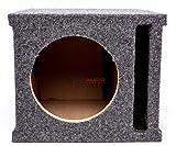 Car Audio Single 8' SPL Bass Subwoofer Labyrinth Vent Sub Box...