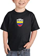 Venezuela - Soccer Crest Country Proud Infant/Toddler Cotton Jersey T-Shirt