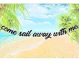 Ven Sail Away With Me Sail Away With Me Banner banner de boda náutico banner de boda banner de verano boda bandera náutica decoración de boda