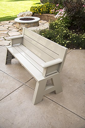 Premiere Products 5RCATA Tan Convert A Bench, Approximate Size: Table 27' H x 14' D 31' H x 58' L...