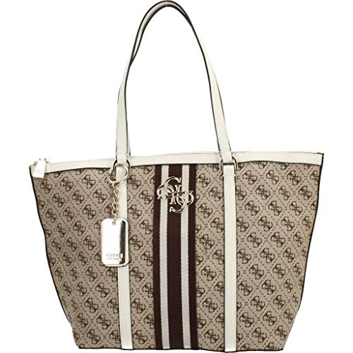 Guess BORSA DONNA MOD. VINTAGE TOTE IN TESSUTO/ECOPELLE COL....