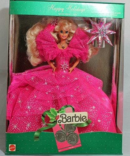 Barbie Mattel Happy Holidays 1990