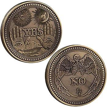 Toysdone Yes No Challenge Coin Souvenir Commemorative Coins Collection