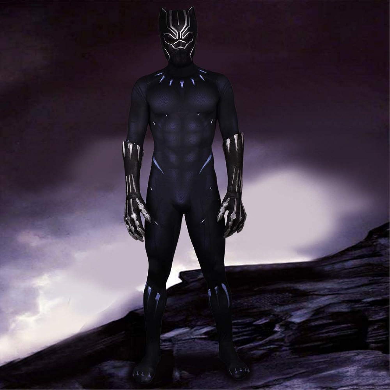 SEJNGF Costume Cosplay di Htuttioween per Collant Siamesi Avengers (Compresa Maschera Guanto),Men-XL
