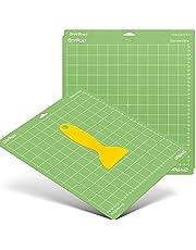 HTVRONT Alfombrilla de corte estándar Grip para Cricut, paquete de 3, 12 x 12 cm, para Cricut Explore Air 2, Air, One y Maker, almohadillas adhesivas estándar, accesorios de repuesto para Cricut