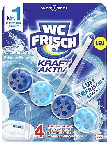 WC-Frisch Kraft Aktiv Duftspüler Frische Brise, WC-Reiniger, 1 Stück, mit Lufterfrischer Effekt für einen intensiven Duft